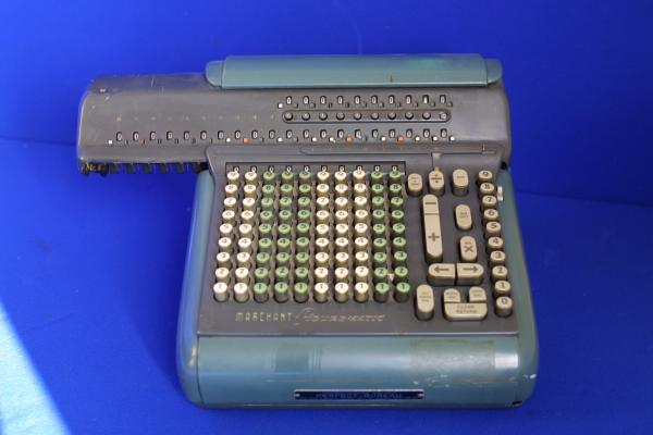 Calculatrice Marchant (vers 1960)